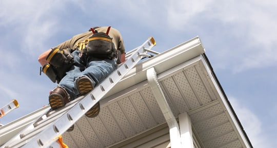 Replacement Gutters with Gutter Guards