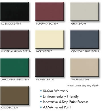 Stock Window Colors for Exterior Paint