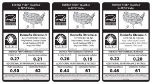 Energy Star Stickers