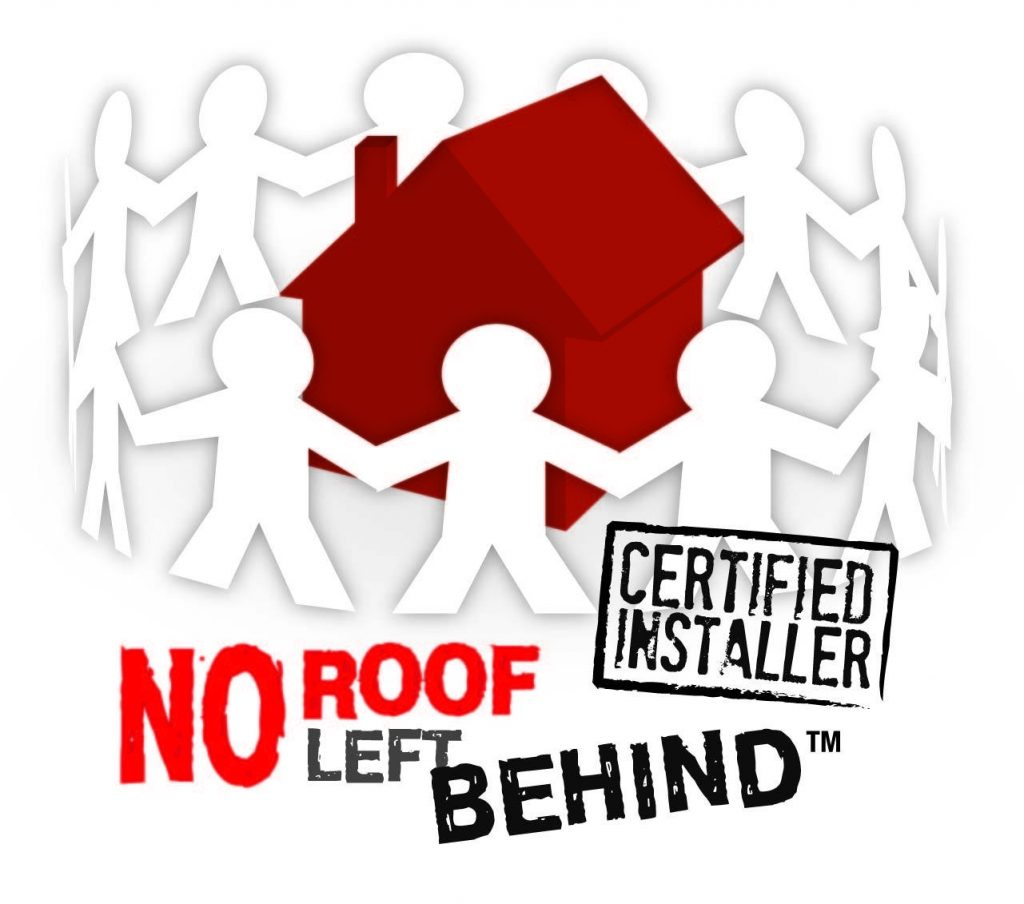 Free Roof for a Family in Need