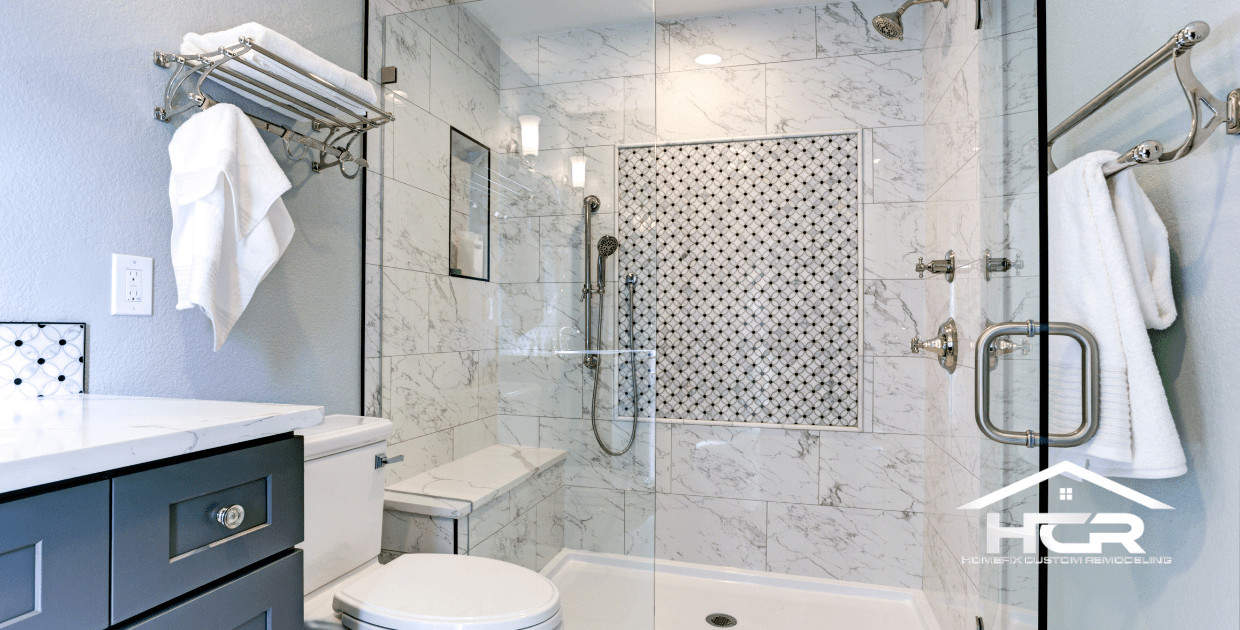 Picture of a new Shower Conversion