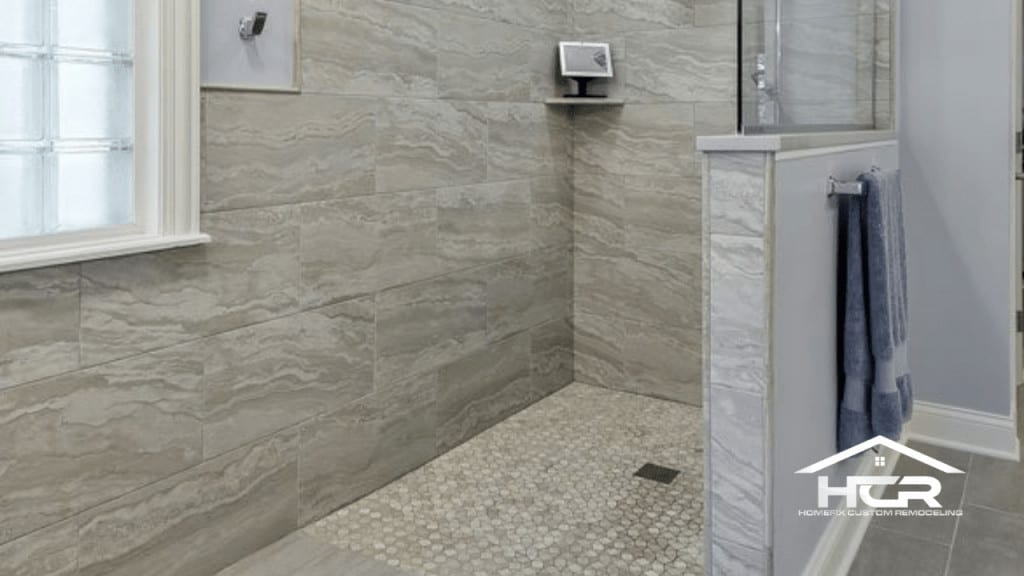 Picture of a Shower Conversion Roll-In